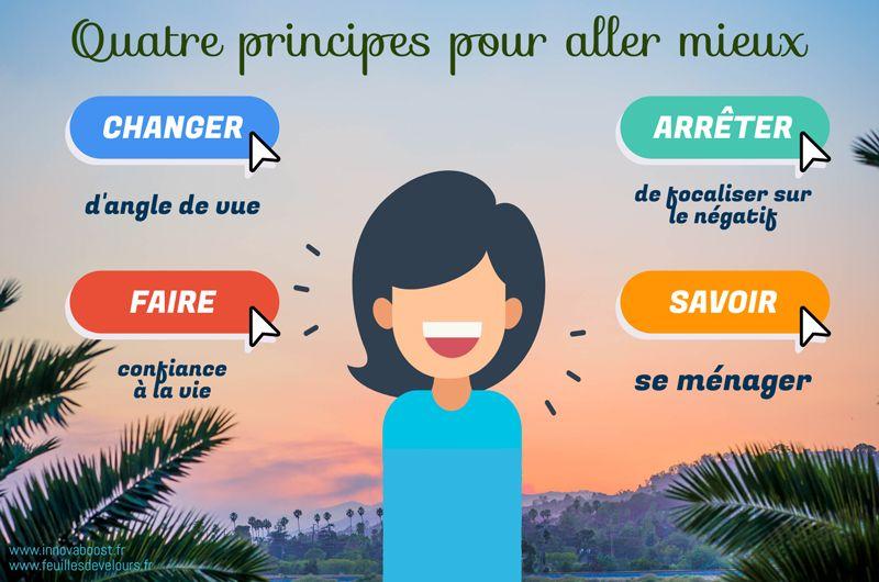 Quatre principes pour aller mieux